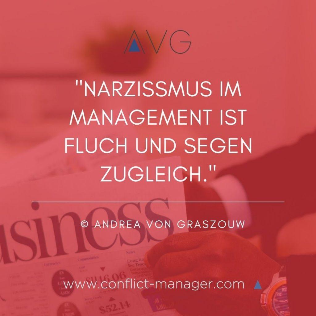 Narzissmus im Management